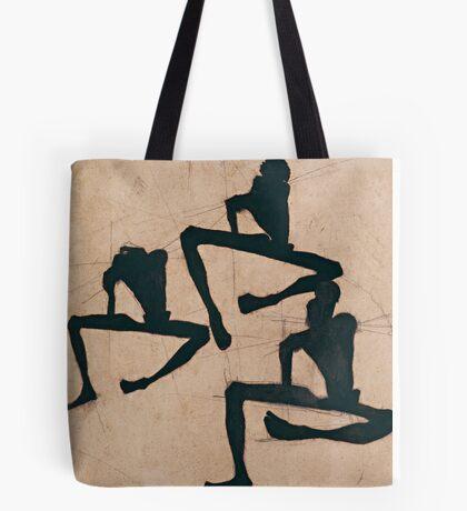 Egon Schiele - Composition with Three Male Nudes 1910 Egon Schiele  Tote Bag