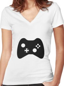 controller Women's Fitted V-Neck T-Shirt