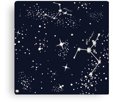 Zodiac Constellations in Cancer Canvas Print
