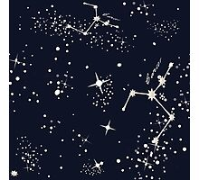 Zodiac Constellations in Cancer Photographic Print