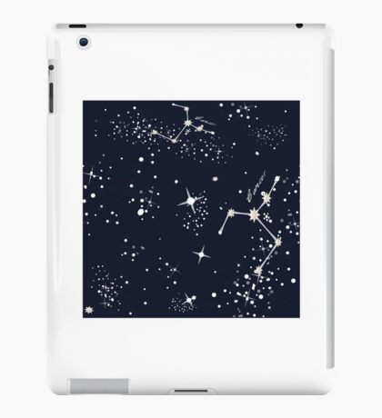 Zodiac Constellations in Cancer iPad Case/Skin