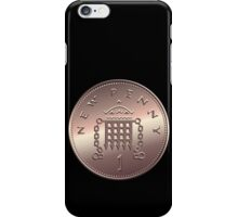 British new one penny iPhone Case/Skin