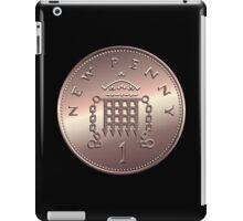 British new one penny iPad Case/Skin