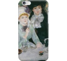 Auguste Renoir - After the Luncheon 1879 iPhone Case/Skin