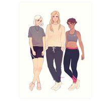 Fox Ladies Art Print