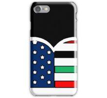 AFRICAN AMERICAN BLEEDING HEART 2 iPhone Case/Skin