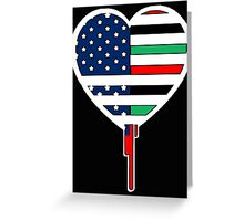 AFRICAN AMERICAN BLEEDING HEART 2 Greeting Card