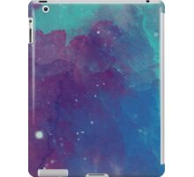 Night sky [watercolor] iPad Case/Skin