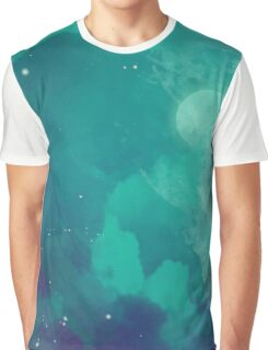 Night sky [watercolor] Graphic T-Shirt
