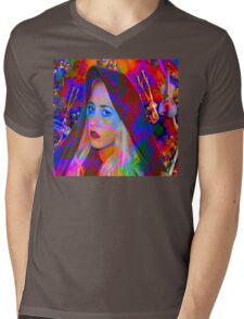 Lost in the Music Mens V-Neck T-Shirt