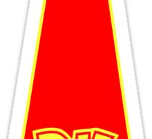 donkey kong tie  Sticker