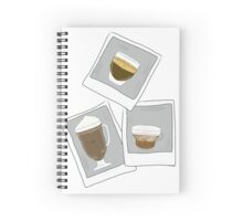 Photocoffees.  Spiral Notebook