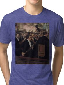 Edgar Degas - The Orchestra at the Opera ( 1870) Tri-blend T-Shirt