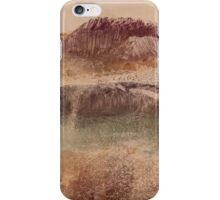 Edgar Degas - Russet Landscape (1890) iPhone Case/Skin