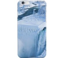 Niagara Falls In Winter iPhone Case/Skin