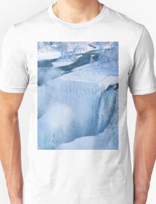 Niagara Falls In Winter Unisex T-Shirt