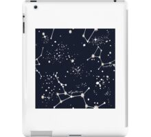 Zodiac Constellations in Sagittarius iPad Case/Skin