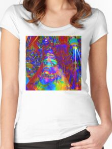 Cyborg Creation Women's Fitted Scoop T-Shirt