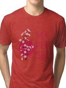 Cherry Blosom Tri-blend T-Shirt