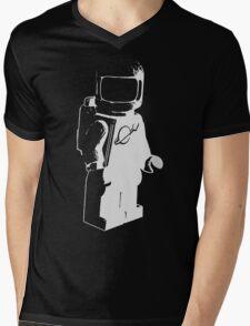 Lego Classic Space Mini-Figure Mens V-Neck T-Shirt