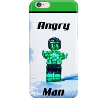 Angry Man! iPhone Case/Skin
