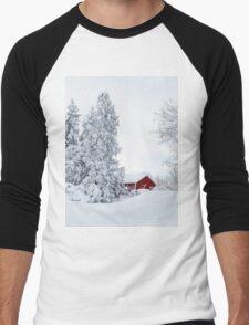 Winter Wonderland Men's Baseball ¾ T-Shirt