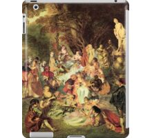 The Jean-Antoine Watteau Memorial Picnic iPad Case/Skin