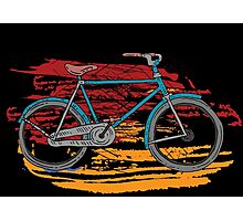 Bicycles - Rideable Art Photographic Print