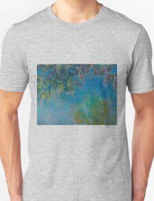 Claude Monet - Wisteria , Impressionism Unisex T-Shirt