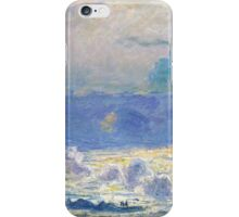 Claude Monet - Waterloo Bridge, Impressionism iPhone Case/Skin