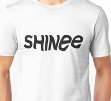 SHINee Logo (Black Version) Unisex T-Shirt