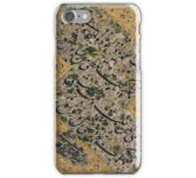 A CALLIGRAPHIC ALBUM PAGE BY MIR EMAD AL-HASSANI, SAFAVID PERSIA, iPhone Case/Skin