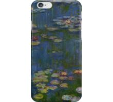 Claude Monet - Water Lilies (1916)  Impressionism iPhone Case/Skin