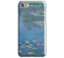 Claude Monet - Water Lilies (1906)  Impressionism iPhone Case/Skin