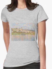 Claude Monet - Vétheuil (1879) Womens Fitted T-Shirt