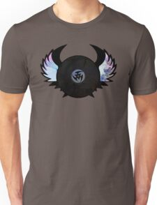 Vinyl Records with Wings - Retro Grunge Vintage Art - Music DJ! Unisex T-Shirt