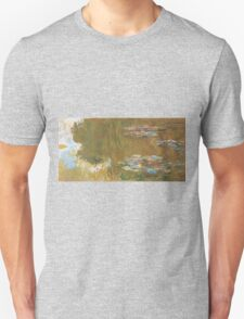 Claude Monet - The Water-lily Pond (1914-1917) Impressionism Unisex T-Shirt