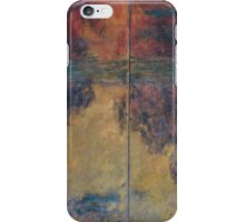 Claude Monet - The Water Lily Pond , Impressionism iPhone Case/Skin