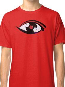 Eye Heart Vinyl (I Love Vinyl) Modern Conceptual Art Vinyl Records Music Classic T-Shirt