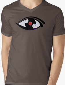 Eye Heart Vinyl (I Love Vinyls) Modern Conceptual Art Vinyl Records Music Mens V-Neck T-Shirt