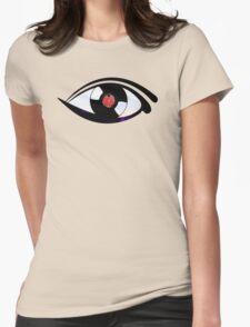 Eye Heart Vinyl (I Love Vinyl) Modern Conceptual Art Vinyl Records Music Womens Fitted T-Shirt