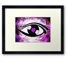 Eye Heart Vinyl (I Love Vinyl) Modern Conceptual Art Vinyl Records Music Framed Print