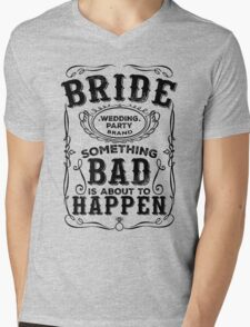 Women's Bachelorette Party Whiskey Bride Bridesmaid Wedding T-Shirts Mens V-Neck T-Shirt