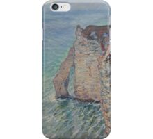Claude Monet - The Rock Needle and the Porte d'Aval Impressionism iPhone Case/Skin