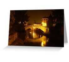 Ponte San Michele Greeting Card