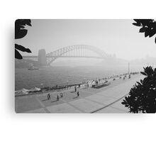 Smokey Saturday in Sydney #1 Canvas Print