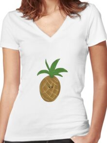 Fineapple.  Women's Fitted V-Neck T-Shirt