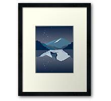 Snowdonia ferry Framed Print