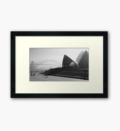 Smokey Saturday in Sydney #2 Framed Print