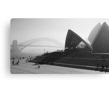Smokey Saturday in Sydney #2 Canvas Print